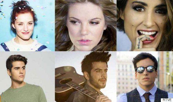 Cinco claves de cada una de las seis canciones españolas que aspiran a ir a Eurovisión