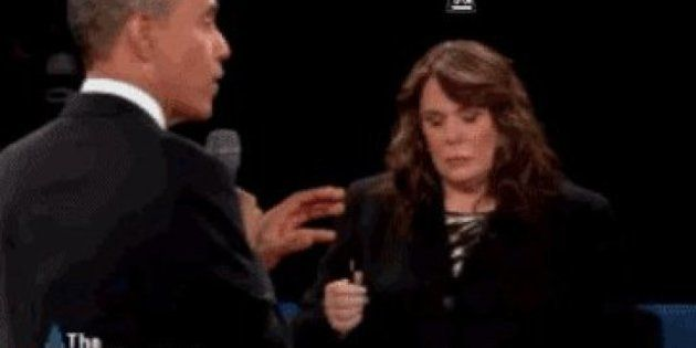 El segundo debate entre Obama y Romney, en GIFs