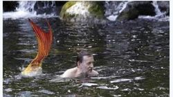 Los mejores memes del baño de Rajoy en el Umia