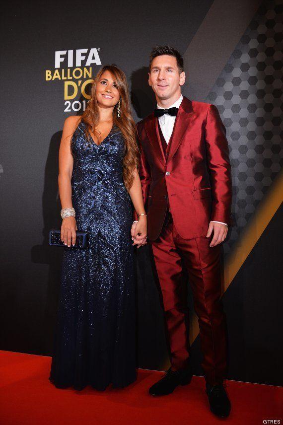 Traje de Messi en la gala del Balón de Oro: lo ha vuelto a