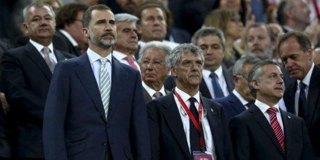 Multas a la Federación, al Barça y al Athletic por los pitos al