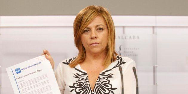 Elena Valenciano, el pato, Bárcenas y el
