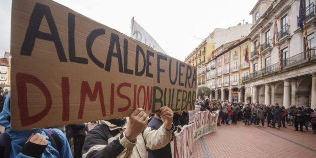 El alcalde de Burgos suspende definitivamente las obras en