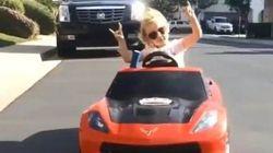 Nunca llegarás a conducir tan bien como esta niña de cinco