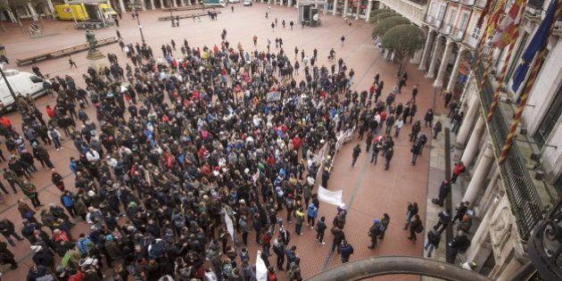 El 'Movimiento de Gamonal' de Burgos continuará tras la suspensión de la