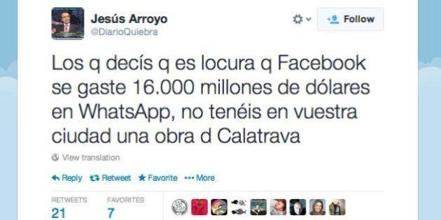 Facebook compra WhatsApp: tuits muy ingeniosos sobre las posibles