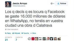 Ronda tuitera: lo que se dice de la compra de WhatsApp por