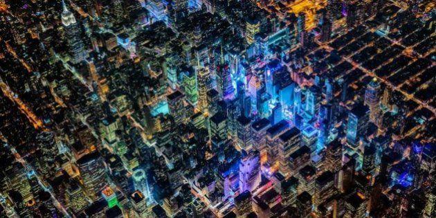 Estas fotos aéreas son lo único que pueden competir contra la ventanilla del
