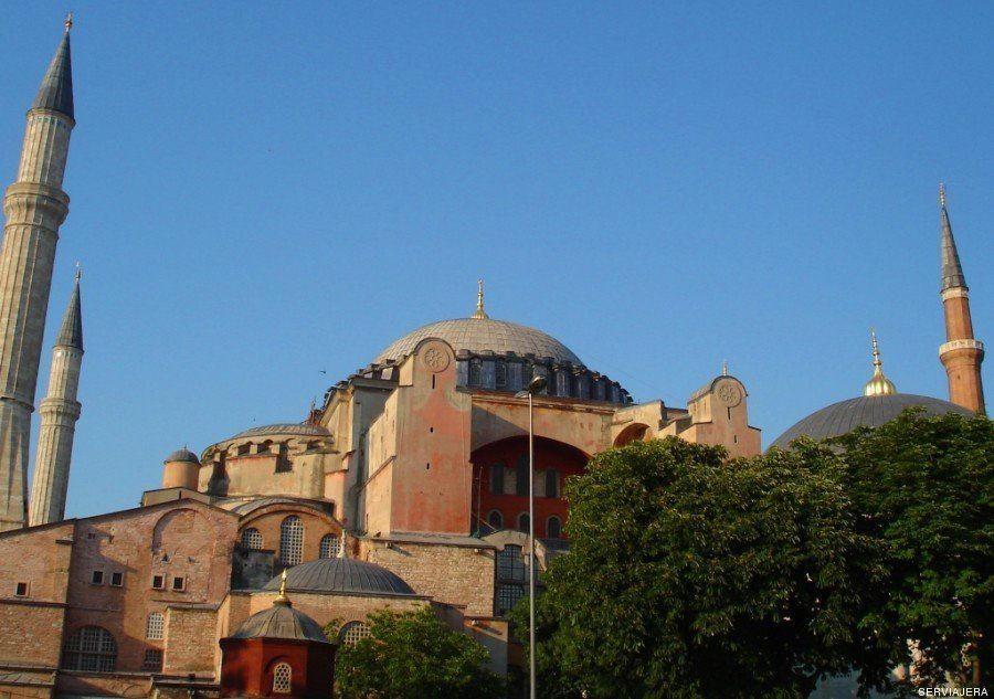 Buscando el fresco en las catedrales más hermosas del
