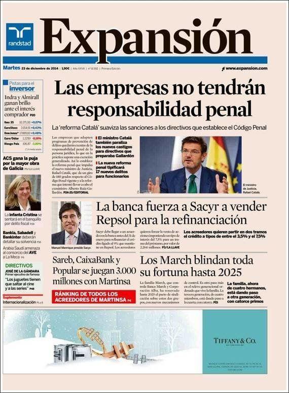 Revista de prensa: La renuncia es un