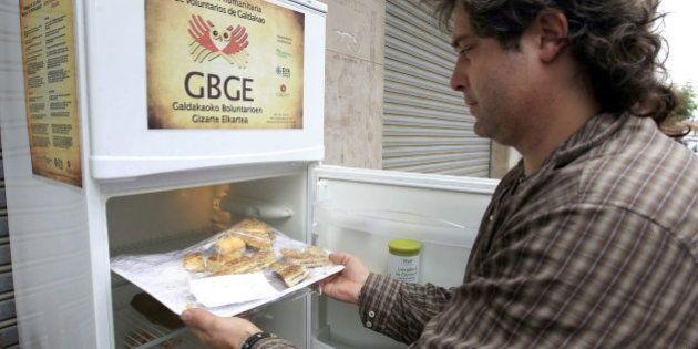 El 'frigorífico solidario' que todo barrio debería