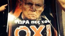 Las calles de Atenas se visten para el referéndum