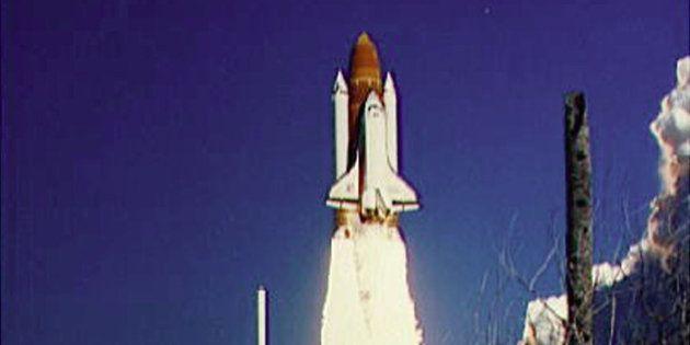 Aparecen imágenes nunca vistas de la tragedia del Challenger