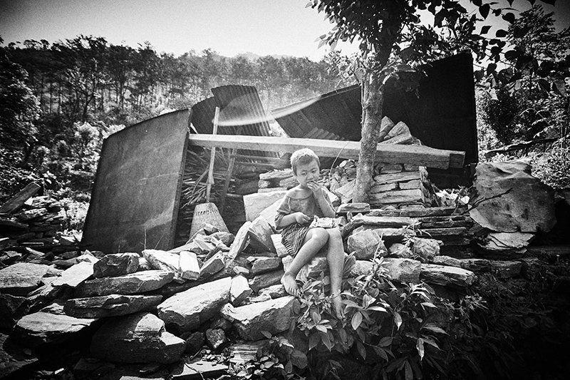 Sobrecogedoras imágenes de la devastación en