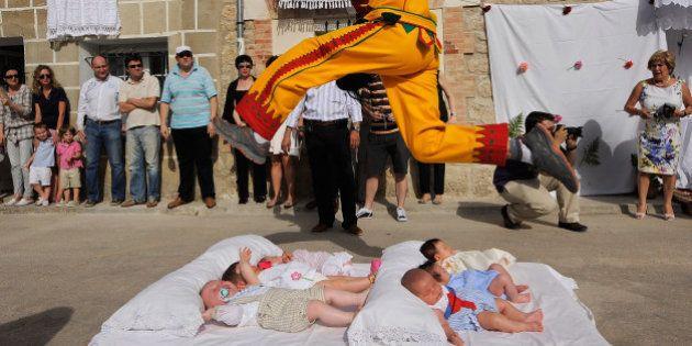 Cinco fiestas patronales raras en España