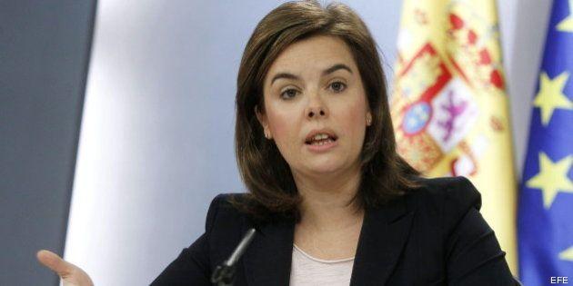 Sáenz de Santamaría defiende que Rajoy ha dado explicaciones sobre Bárcenas desde
