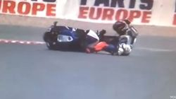 Lorenzo se cae otra vez y deberá ser operado de nuevo