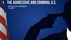 ¿Es Obama con una pistola en la sien? El polémico tuit del líder supremo