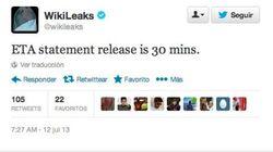 'Wikileaks es ETA': Unas siglas en inglés en un tuit la lían en