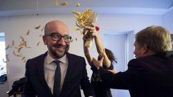 El primer ministro belga, atacado con patatas fritas, no pierde la
