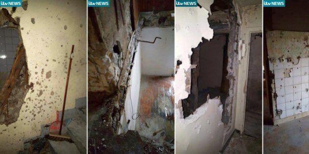 Primeras imágenes del piso donde se produjo el asalto en