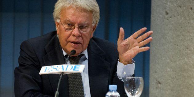 Felipe González pide cambiar la Constitución y apuesta por el federalismo como estructura de