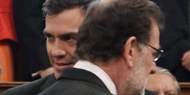 Rajoy y Sánchez, fríos y distantes en la entrega del Premio