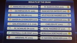 Barça-Manchester City, Atlético-Milán y Madrid-Schalke, en