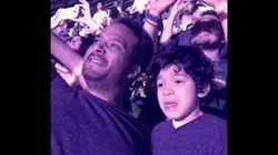 La viral emoción de un niño con autismo al escuchar en directo su canción favorita de