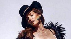 Cindy Crawford, cerca de los 50, en bikini y sin retocar