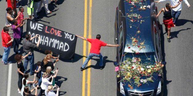 Louisville se vuelca con el último adiós de Muhammad