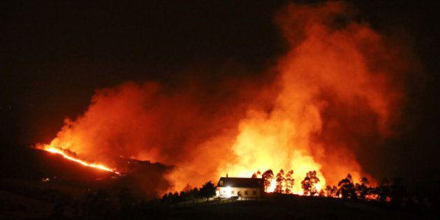 El norte arde: más de cien incendios prenden en Galicia, Asturias, Cantabria y País