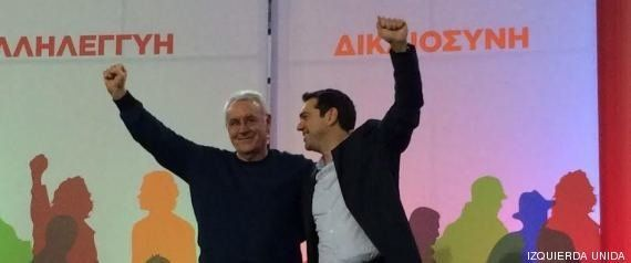 Un retrato 'a la española' de Tsipras: