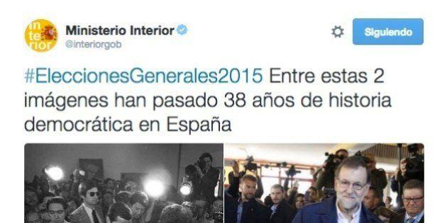 Interior levanta polémica por un tuit en el que saca a Suárez y