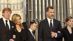 Ocho reyes (y la infanta Cristina) en el funeral de Kardam de