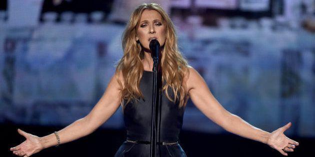 El homenaje de Celine Dion a las víctimas de los atentados de París en los American Music