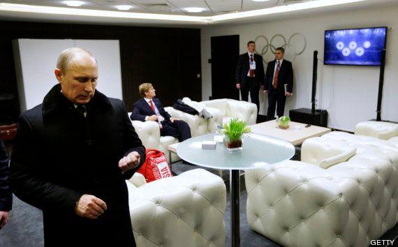 Este fue el toque de humor en la ceremonia de clausura de Sochi