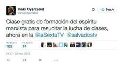 La respuesta de Jordi Évole a este dirigente del PP triunfa en