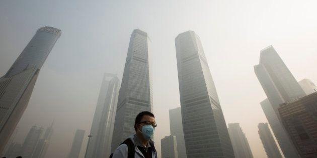 La contaminación de China llega hasta