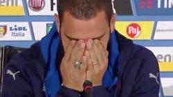 Bonucci no puede contener las lágrimas al recordar a su hijo enfermo en la rueda de