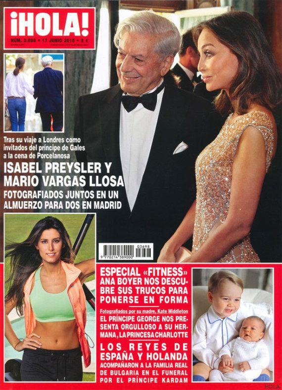 Isabel Preysler y Mario Vargas Llosa: la extraña pareja portada de