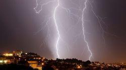 Más de media España, en alerta por fuertes tormentas y