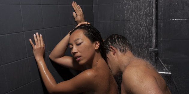 Young couple engaged in sexual