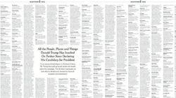 Estos son todos los insultos que Trump ha publicado en