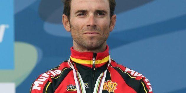 Valverde, que se hizo con el bronce, y Freire se culpan tras no ganar el oro en el Mundial de