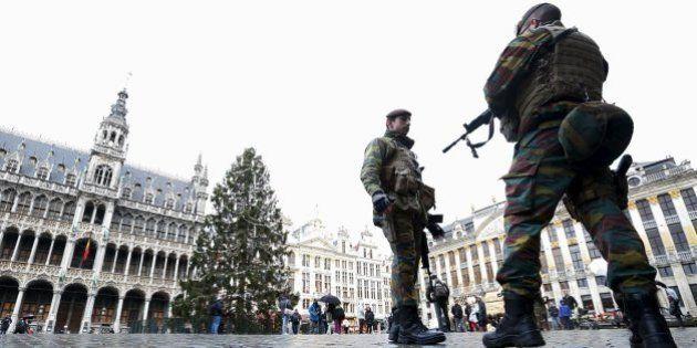 Bruselas en estado de sitio, en 13