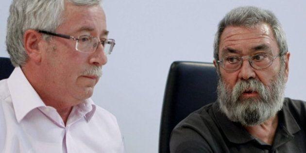 CCOO y UGT aprueban convocar la huelga general ibérica para el 14 de