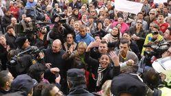 Tras la tragedia, gritos contra la pobreza en Alcalá de