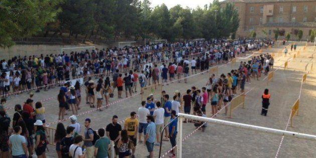 Casi 4.000 personas buscan en Tudela un papel en 'Juego de