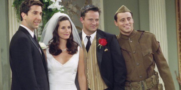 FRIENDS -- 'The One With Monica And Chandler's Wedding' -- Episode 24 -- Aired 5/17/2001 -- Pictured:...